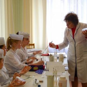відкрите практичне заняття з мікробіології
